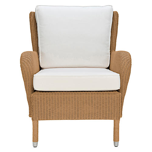 Washington Accent Chair, Natural