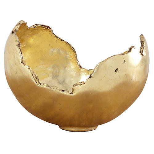 "17"" Barton Bowl, Gold"