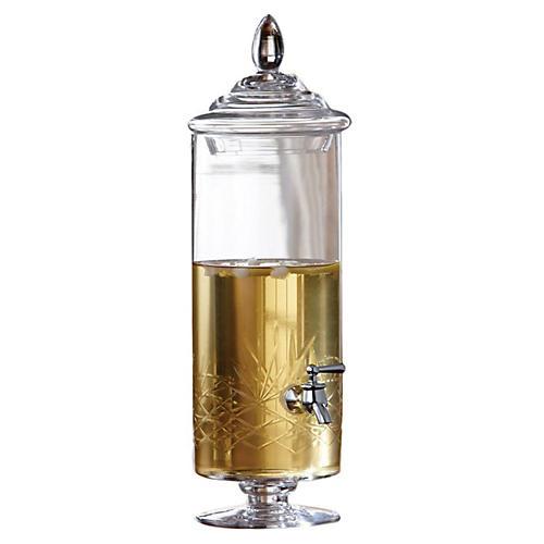 Provence Glass Beverage Dispenser