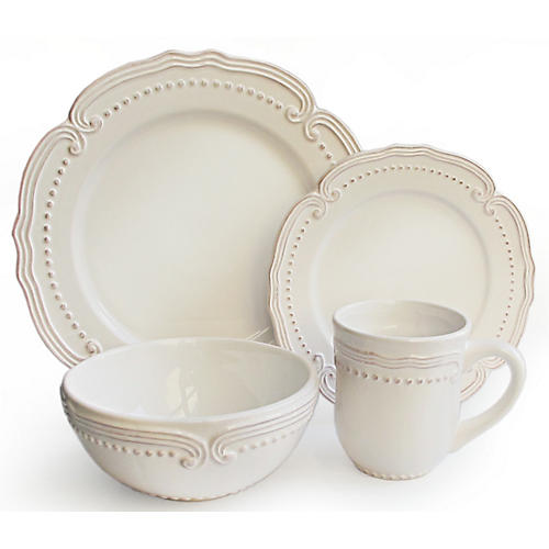 16-Pc Victoria Dinnerware Set