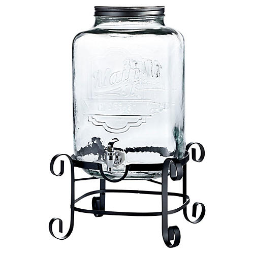 3 Gal Main St. Beverage Dispenser