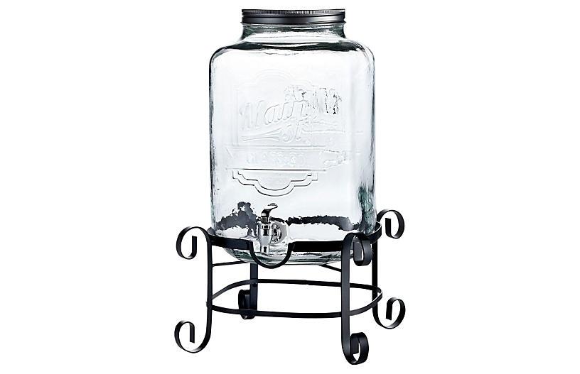 3 Gal Main St. Beverage Dispenser