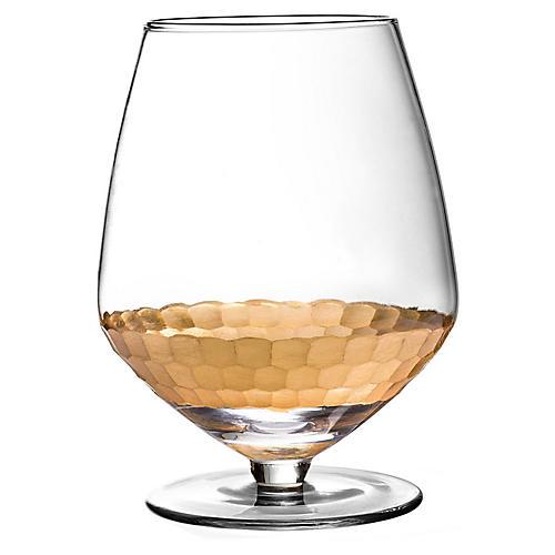 S/4 Daphne Pinot Noir Wineglasses, Gold