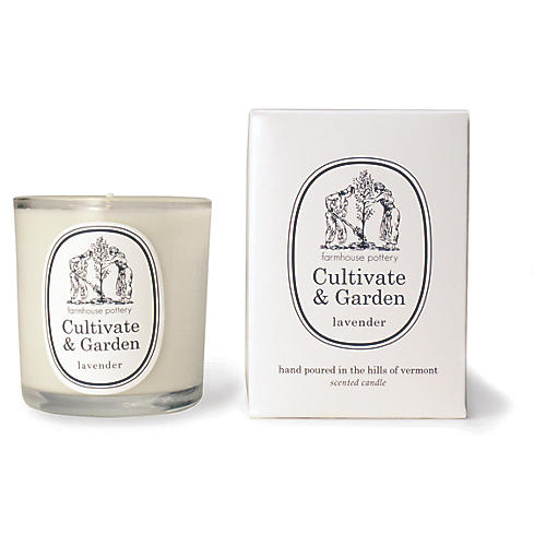 Cultivate & Garden Candle, Lavender