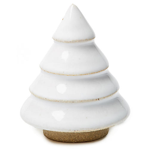 Balsam Tree Figurine, White