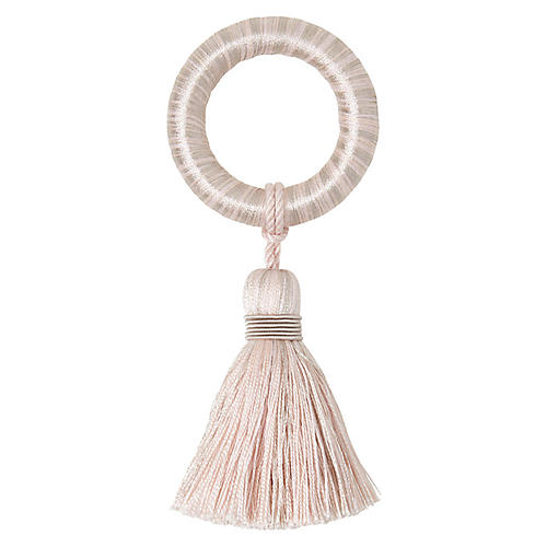 S/4 Fez Napkin Rings, Blush