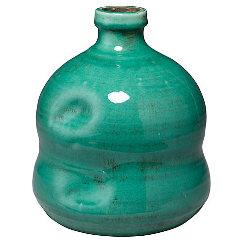 Dimple Jug, Turquoise