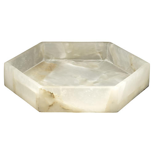 "11"" Antonia Alabaster Tray"