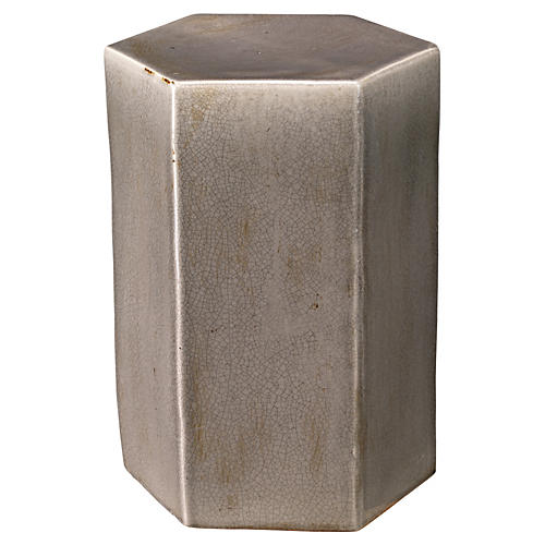 Large Porto Side Table, Gray