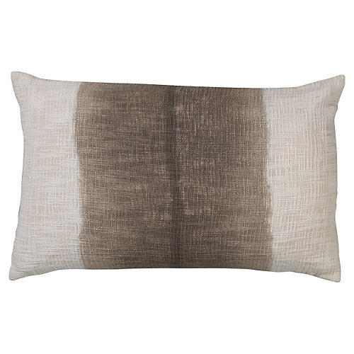Marcus 16x26 Cotton Pillow, Gray