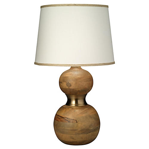 Bandeau Table Lamp, Natural Brown