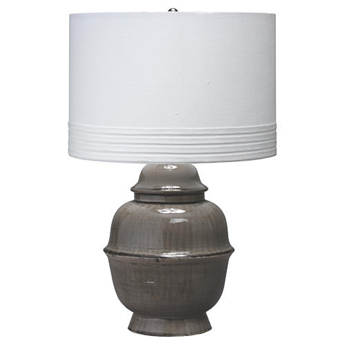 Kaya Table Lamp, Gray
