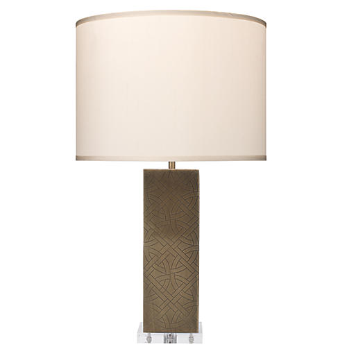 Jameson Table Lamp, Antiqued Brass
