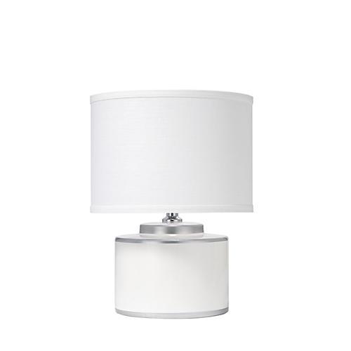Basin Table Lamp, White
