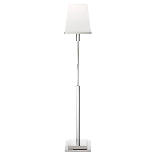 Jud Floor Lamp, Nickel