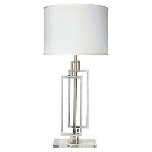 Romeo Table Lamp, Nickel