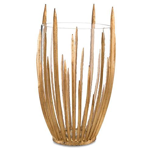 "19"" Starstruck Vase, Gold"