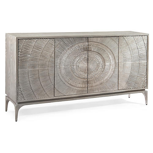 Cosmos Sideboard, Gray Oak