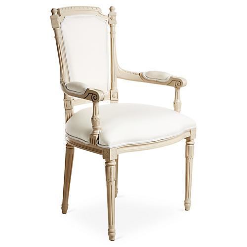 Bristol Outdoor Armchair, Beige/White