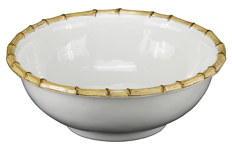 Medium Bamboo Serving Bowl, 11