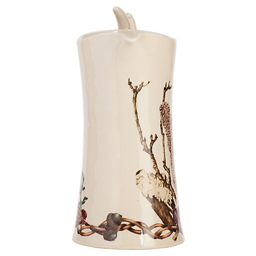 Forest Walk Pitcher, Ivory/Multi