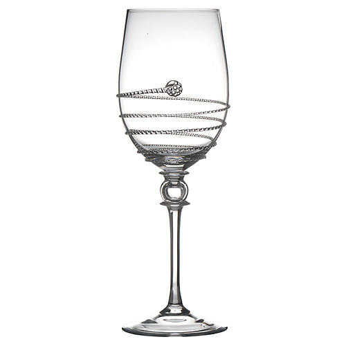 Amalia White-Wine Glass, Clear