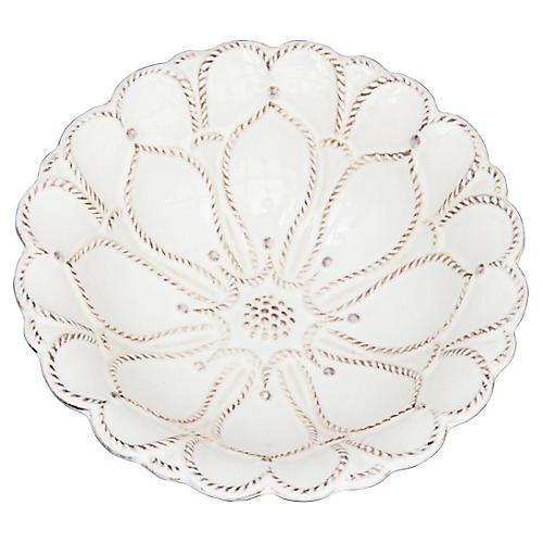 Jardins du Monde Blossom Bowl, White