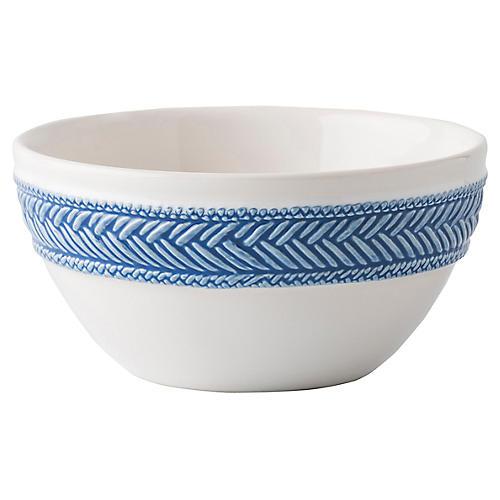 Le Panier Cereal Bowl, Delft Blue/White