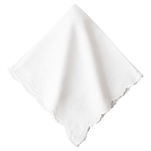 Heirloom Napkin, White