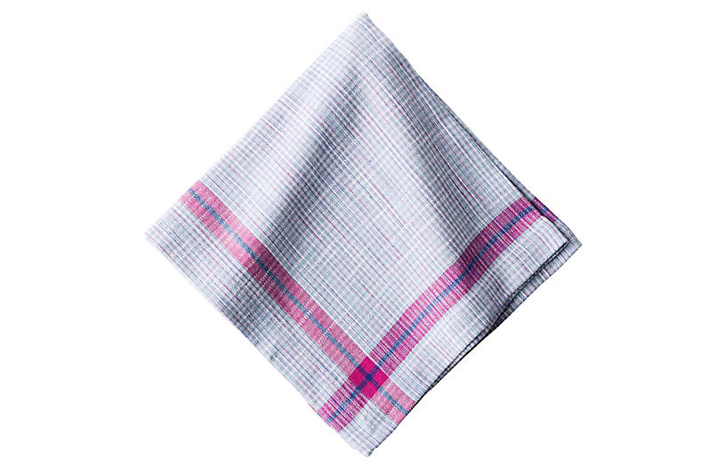 Khadi Plaid Napkin - Juliska