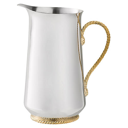 Periton Pitcher, Silver/Gold