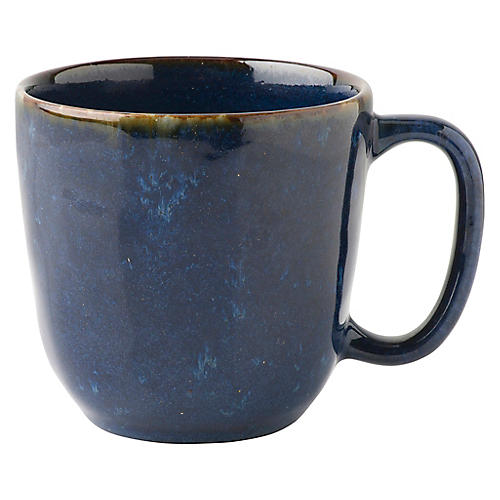 Puro Dappled Coffee Mug, Cobalt