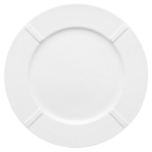 Bruk Dinner Plate, White