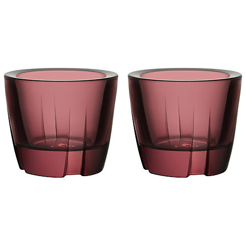 S/2 Bruk Anything Tumblers, Purple