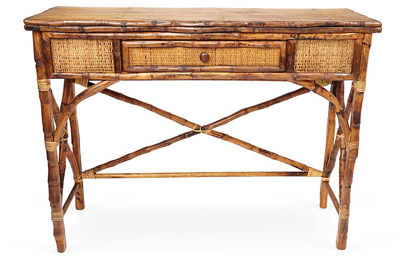 English Console Table - Tortoise
