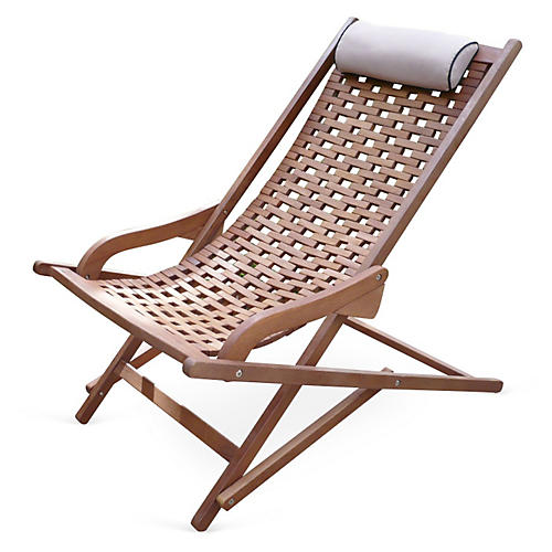 Eucalyptus Outdoor Swing Lounger