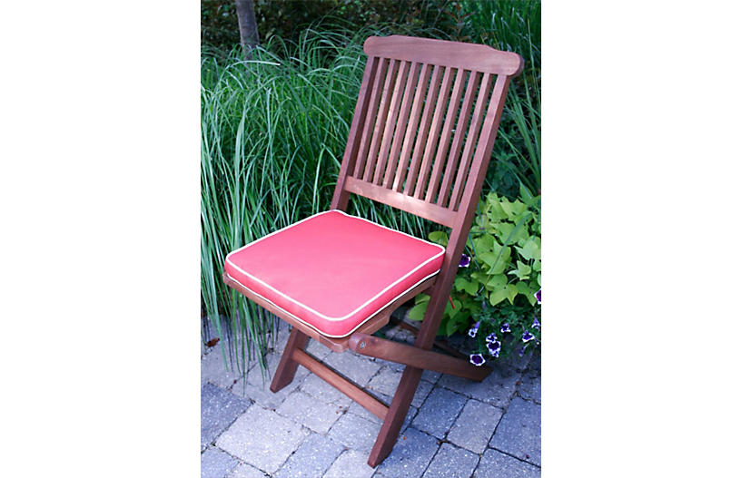 Langley 3 pc bistro set red outdoor furniture for Outdoor furniture langley