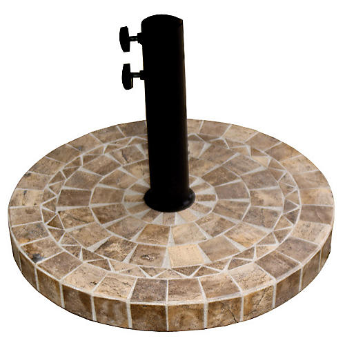Montage Umbrella Base, Brown/Tan