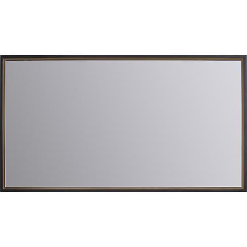 """Plate 30""""x46"""" Mirror, Bronze"""