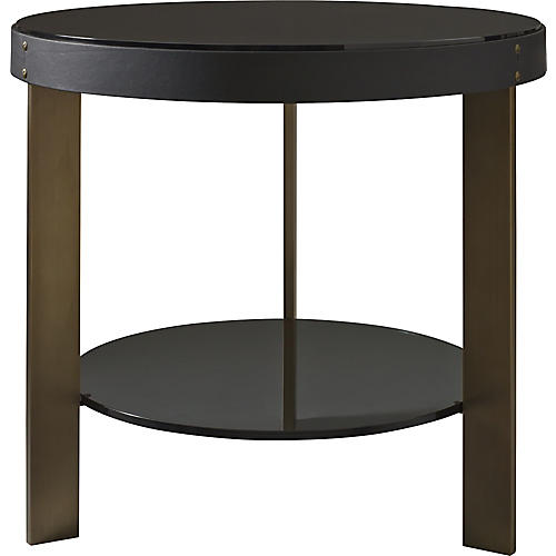 Halo Side Table, Black