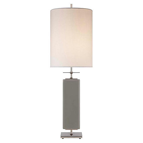 Beekman Table Lamp, Gray