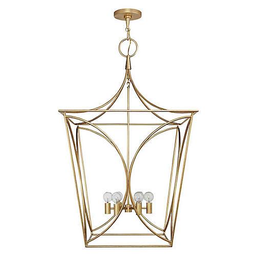 Cavanagh Large Lantern, Gild