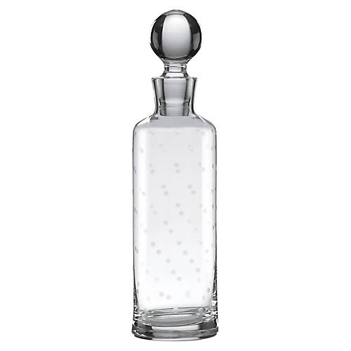 Larabee Dot Decanter, Clear