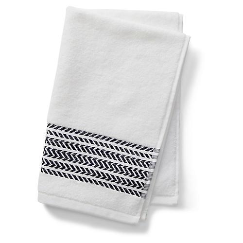 Baja Hand Towel, Navy