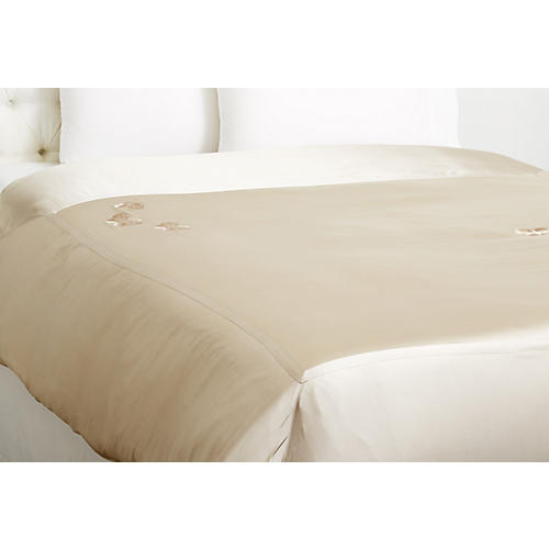 Butterfly Duvet Cover, Smoke
