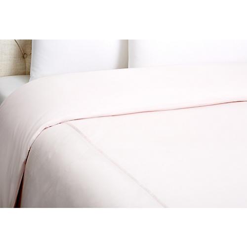 Kumi Basic Duvet Cover, Blush