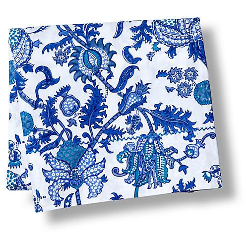 Amanda Flat Sheet, Blue