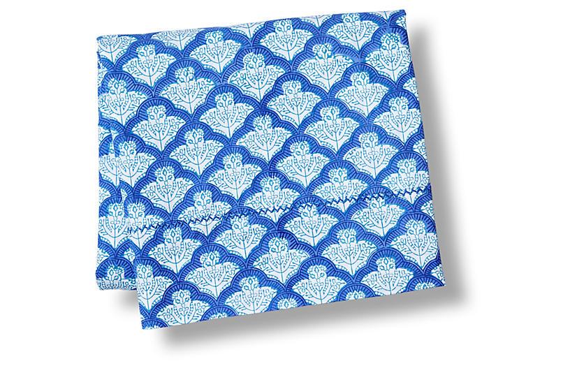 Jemina Flat Sheet, Blue