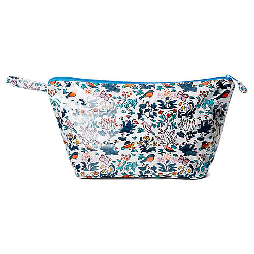 Bagatelle Toiletry Case, Blue/Multi