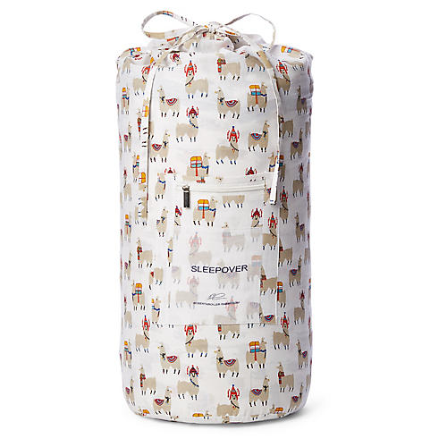 Alpacas Sleeping Bag Set, Beige